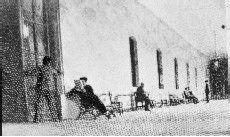 Reconstrucción del asesinato de Cánovas del Castillo en el balneario de Santa Águeda, a manos de Angiolillo