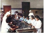 Imagen de pacientes en un taller