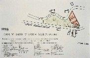 Plano de la Casa de Salud de Santa Águeda (mujeres) en 1904