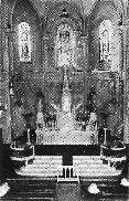 Interior de la Iglesia de la Casa de Salud