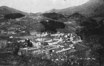 Vista general del Hospital Aita Menni en 1930