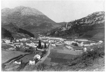 Santa Agedako ikuspegi orokorra 1948an