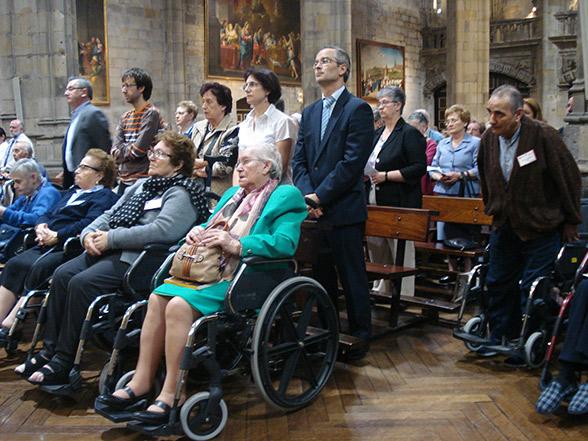 Acción de Gracias en la Basílica de Begoña de Bilbao